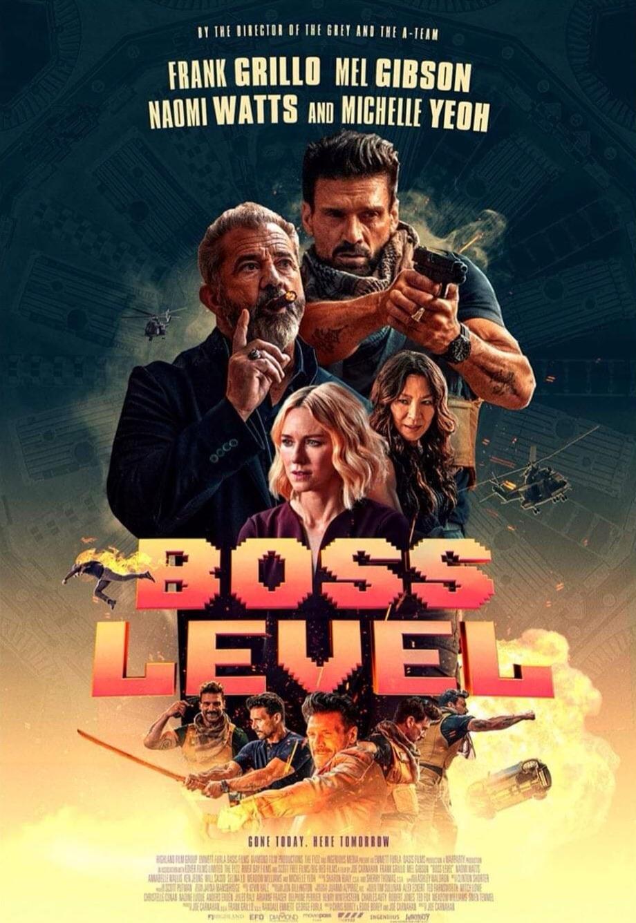 مشاهدة وتحميل فيلم الاكشن والخيال العلمي المستوى الأصعب Boss Level 2020 مترجم اون لاين HD بطولة ميل جيبسون وتحميل ومشاهدة مباشرة فيلم Boss Level 2020 مترجم اونلاين
